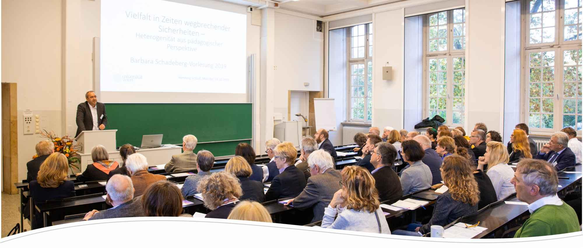 Barbara-Schadeberg-Stiftung Vortrag Prof. Dr. Henning Schluß