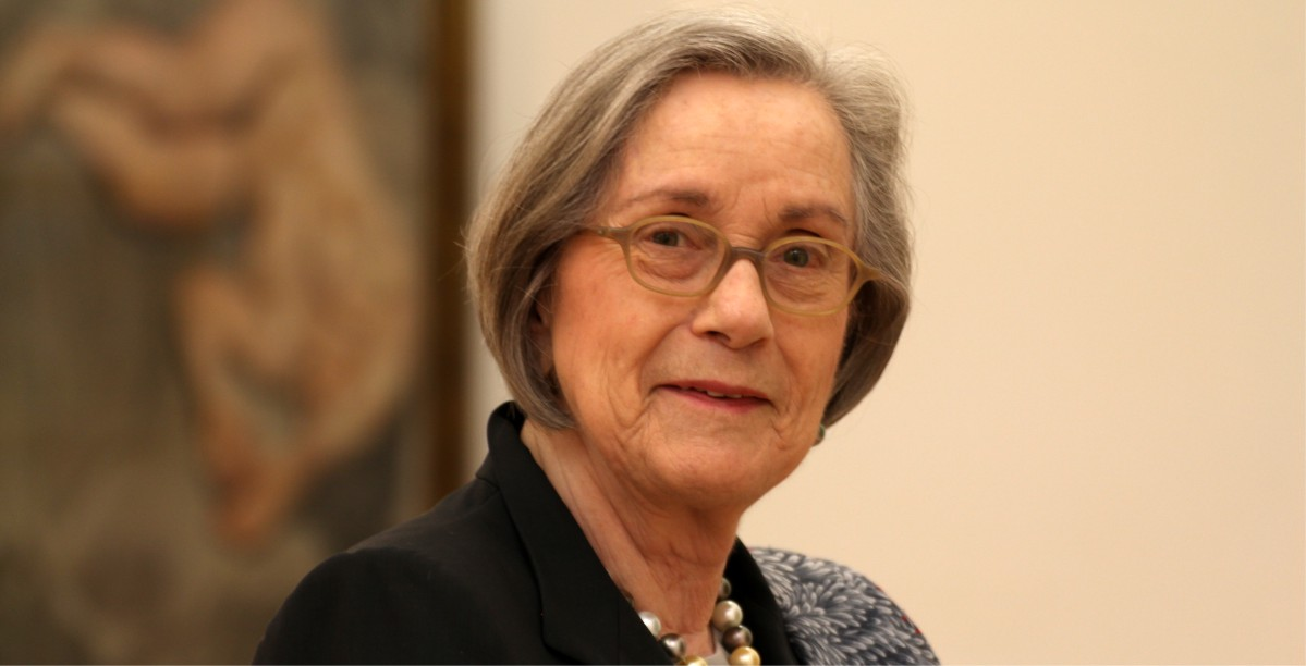 Barbara Lambrecht-Schadeberg - Stifterin - Foto Karl-Hermann Schlabach