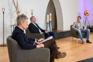 Jürgen Junker, Axel Schröder und Christian Urban