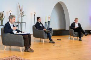 Jürgen Junker, Maurice Conrad und Andreas Hollenstein - Schüler*innen-Kongress der BSS