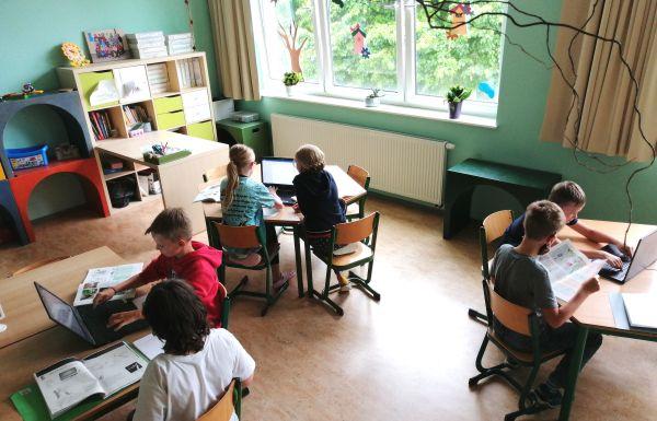 Foerderung Ev Grundschule Mühlhausen durch die BSS