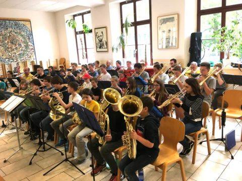 Projekt Förderung Schule - Posaunenchöre | Barbara-Schadeberg-Stiftung